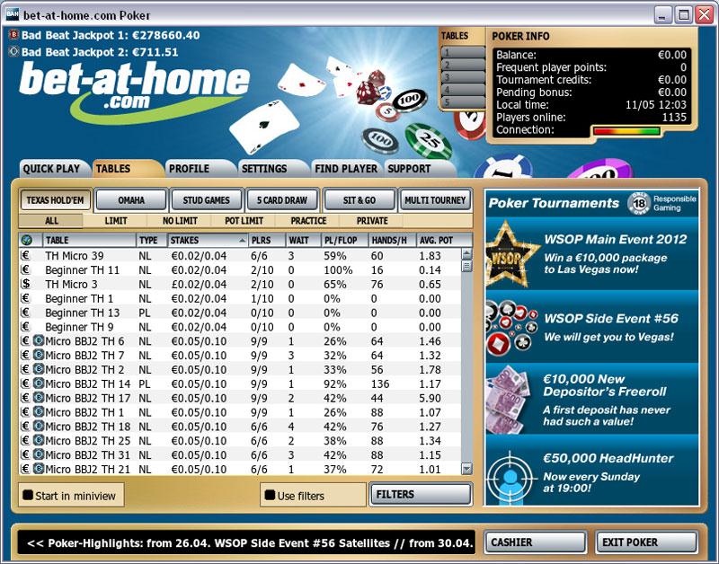 Spielen sie Jacks or Better Multihand Videopoker Online bei Casino.com Österreich