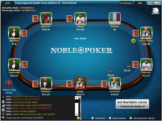 grundregeln poker